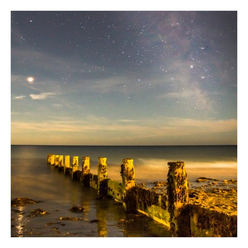 Bognor Regis Beach - Milky Way and Mars